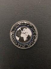 5 Euro Polymer Münze Planet Erde 2016 Prägestätte G bankfrisch Stempelglanz