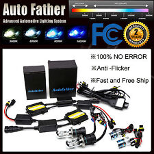 H1 H3 H4 H7 H11 9005 9006 55W No Error Anti-flicker HID Headlights AC CANBUS US