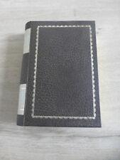 ancienne boite cachette faux livre legende du Tabac France vintage deco biblio