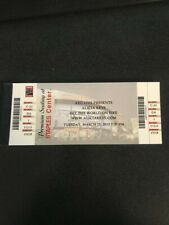 Alicia Keys Set the World on Fire Tour Staples Center Concert Ticket 3/12/2013