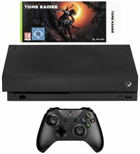 Microsoft Xbox One X 1tb USK 16 Inkl. Shadow Of The Tomb Raider