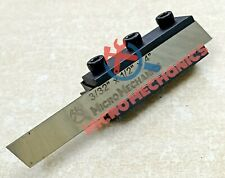 Lathe Clamp Type Parting Cut Off Tool Holder 10mm Shank With 12 Hss Blade Usa
