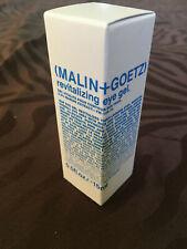 NEW MALIN+GOETZ Revitalizing Eye Gel 0.5oz 15ml NIB Skincare