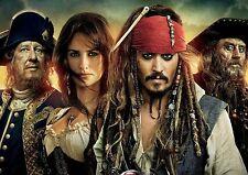 Piratas Del Caribe Cartel De Tela posicional A3 re 3