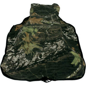 Eavdesign seat cover COMPATIBLE With HONDA RUBICON//FOREMAN 500 MODEL YEAR 2007 BLACK CENTER MOSSY OAK DUCK BLIND Will Custimize color upon request