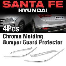 Chrome Bumper Guard Protector Molding Trim C336 for HYUNDAI 2013 - 2017 Santa Fe