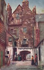 EDINBURGH – Bakehouse Close Tuck Postcard – Scotland