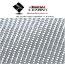 TISSU DE VERRE ALUMINIUM sergé 290g. pour résines polyester ou époxy.