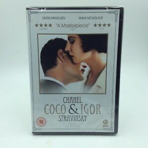 Coco Chanel And Igor Stavinsky (DVD, 2010) NEW SEALED. Region 2. Shipped free