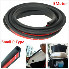 5M Rubber Small P Type Car Door Seal Strip Anti-dust Sealing Strip Trim Moulding