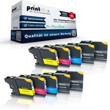 10x Super XL kompatible Tintenpatronen für Brother MFCJ-5320-DW LC-227BK Eco Pri