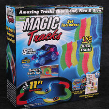 1Cars Magic Tracks The Amazing Racetrack that Can Bend Flex Glow As Seen on TV