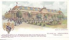 Postcard : 1904 St Louis World Fair : Place of Manufactures