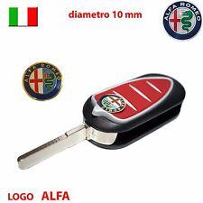 Logo stemma telecomando chiave guscio auto ALFA ROMEO Giulietta Mito GT 10mm 1cm