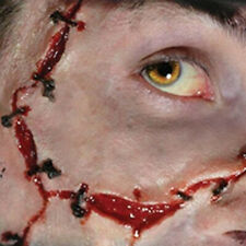 Tinsley Transfers Stitches Scars Prosthetic Special Effects Makeup Horror 3D FX
