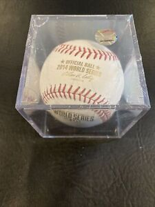2014 World Series Rawlings Baseball - Sealed / Encased Unopened Giants