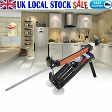 More details for professional knife sharpener kitchen sharpening system fix angle with 4 stones