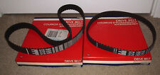 Pair timing cam & pump belts 1.7 Diesel Nissan Cherry Pulsar Sunny Stanza 1.7D