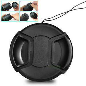 Universal 39mm Snap-On Front Lens Cap Cover tector .G cord w/ For Came 2021