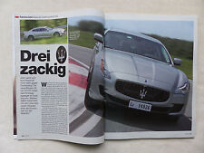 Maserati Quattroporte S Q4 410 PS - Fahrbericht - Auto Motor Sport Heft 12/2013