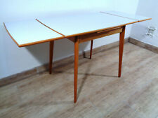 Space age Esszimmer Küchen Tisch Tafel Table table Old Rare Massiv 95-155cm 2867