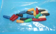 polyéthylène de commutateur bascule Mini chapeau/20pièces 5x rouge+sw,3x bleu+