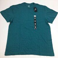 NEW Men's Alfani Crew Neck T Shirt Short Sleeve Green Small Medium Large XL