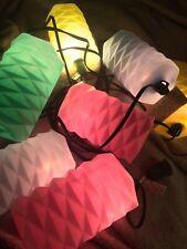 Lidco Riviera Vintage Party Patio String Lights 7 Color Blow Mold Lanterns