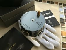 """HARDY """"BEEFY ASHES""""  4"""" PERFECT L.H.W. REEL BOXED  NEW LTD EDTION NO18 OF50 MADE"""