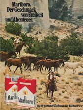 Marlboro Zigaretten - Reklame Werbeanzeige Original-Werbung 1976 (3)