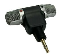 External Stereo Mini 3.5mm TRS Microphone plug For Personal PC Laptop Notebook