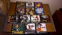 PS1 Playstation 1 games bundle 13 X Games Actua Theme Park B1 N2O Fifa Striker