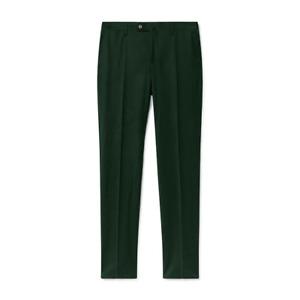 Men's Hackett Mayfair Stretch Flannel Trousers in Green