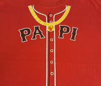 Big Papi David Ortiz SGA T Shirt XL X-Large EUC MLB Baseball Red Sox INV298