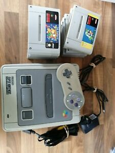 Nintendo Snes 1992 and games