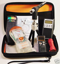Ghost Hunt Kit - Spirit Box - Laser - K2 & Ghost EMF Meter - Recorder - Case +