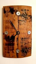 Whisky Stave And Shotgun Cartridge Wall Clock