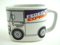 "Federal Express FEDEX Coffee Cup  - ""Worldwide Service"" Delivery Truck Cup"