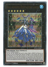 Full Armored Crystalzero Lancer DUSA-EN007 Ultra Rare Yu-Gi-Oh Card 1st Edit New