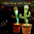 Dancing Cactus Plush Toy Electronic Shake Dancing Singing Succulent Gift Kid US