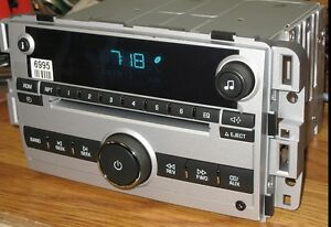 UNLOCKED 2007-2009 *NEW CHEVY EQUINOX CD Radio 3.5mm Aux MP3 input ~ Plug & Play