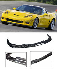 For 05-13 Chevrolet Corvette C6 Z06 ZR1 Carbon Fiber Front Lip Bumper Splitter