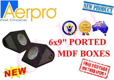 "AERPRO PB6902 6x9"" BOX CABINET REAR SURFACE MOUNT CAR SPEAKER ENCLOSURE CAR"
