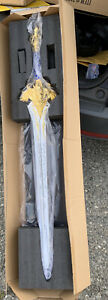 World of warcraft Royal Guard Liane the king's sword 110cm Full Metal weapon