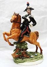 Carabiniere a Cavallo in Porcellana di Capodimonte Porcellane Carusio