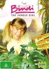 Bindi The Jungle Girl Episodes 1-4 Volume 1 New DVD Region 4 Sealed