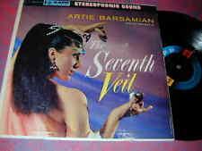 Stereo Banner EXOTICA LP 7th VEIL A Barsamian CHEESCAKE