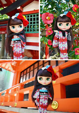 Takara cwc Neo Blythe doll Kimono moderno Lady Camellia SALE