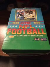 1989 Score Football Box 36 Packs