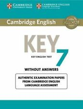 Cambridge English Key 7 Student's Book Without Answers: Authentic Examination Pa